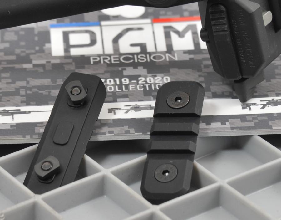 le rail picatinny M-Lock par PGM !